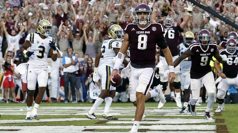 No. 20 Texas A&M 67, Prairie View A&M 0