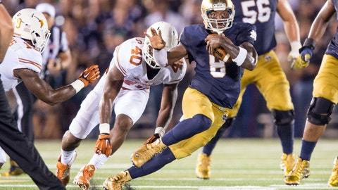 Malik Zaire: Former Notre Dame QB
