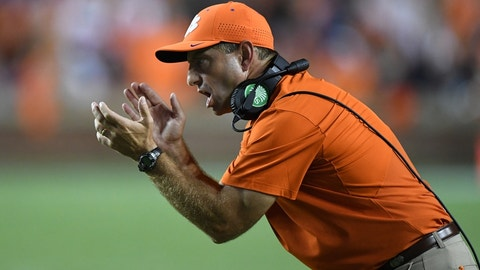 No. 4 Clemson 35, Wake Forest 21