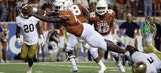 Texas stuns No. 10 Notre Dame in wild 2-OT season opener