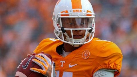 Steelers: Josh Dobbs, QB, Tennessee
