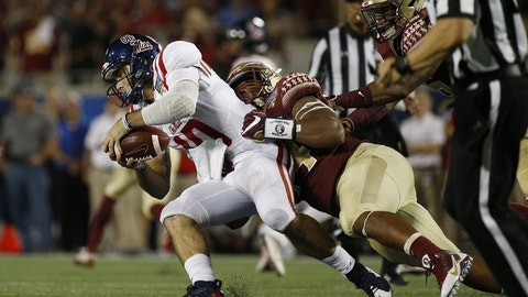 No. 19 Ole Miss 38, Wofford 13