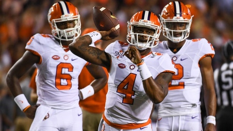 Clemson at Wake Forest (+22.5)