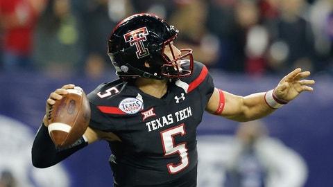 Patrick Mahomes, QB, Texas Tech