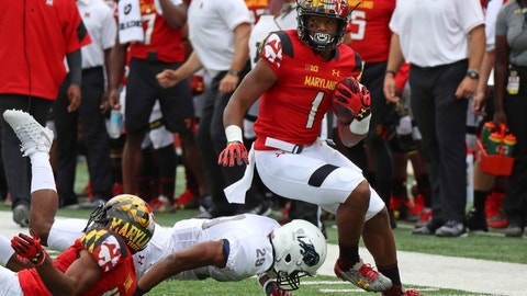 D.J. Moore, WR, Maryland (Quick Lane Bowl)