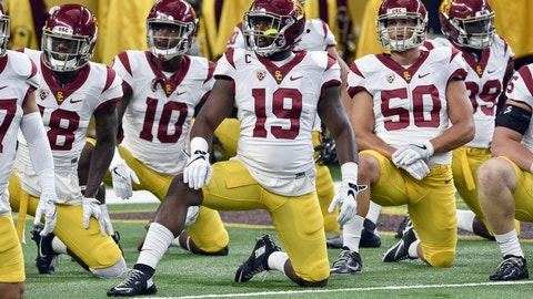USC at No. 7 Stanford (Saturday, 8:00 p.m. ET)