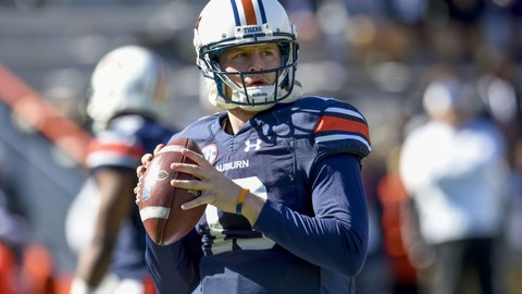 Auburn: Settle on a full-time quarterback