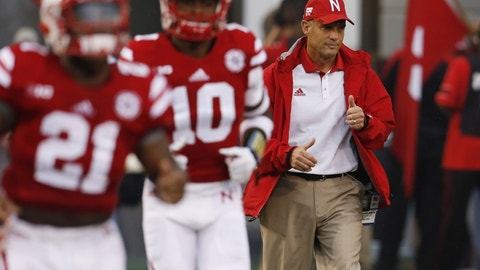 19. Nebraska Cornhuskers (underrated)