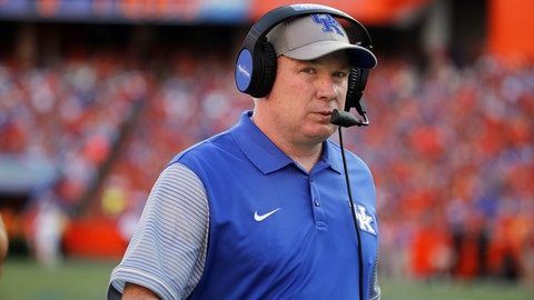Kentucky's Mark Stoops: 18 percent