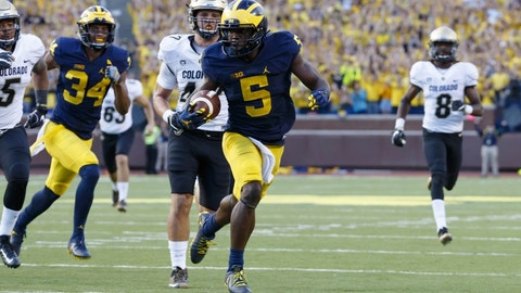 No. 3 Michigan 20, Indiana 10