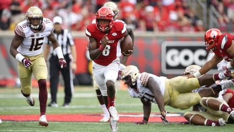 Louisville at Florida State (October 21st)