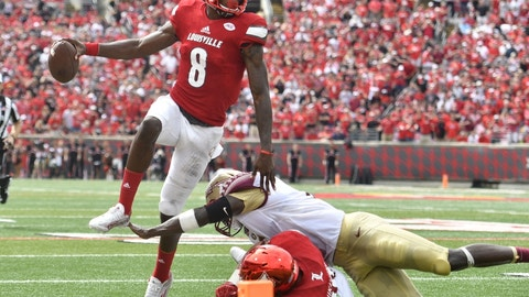 "Louisville-Houston will be a ""Win and You're Into the College Football Playoff"" matchup when they play in late November"