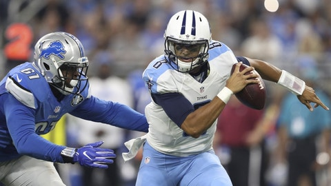 Tennessee Titans: (last week: 30)