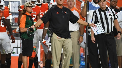 No. 15 Miami (bye)