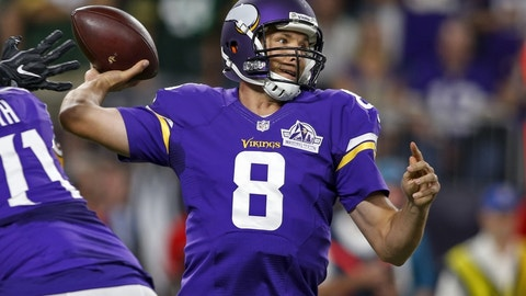 Monday night: Giants at Vikings