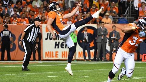 Riley Dixon, P, Broncos