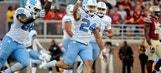 UNC vs. FSU: Nick Weiler celebrates big win with 'chop'