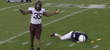 Benches clear after Minnesota delivers cheap shot on Penn State kicker Joey Julius