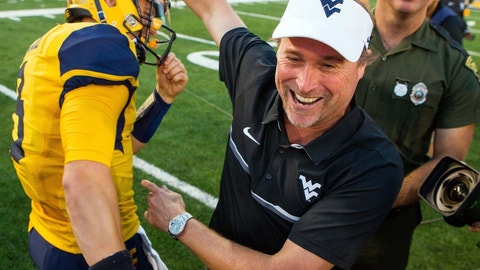 West Virginia Mountaineers (9-2)