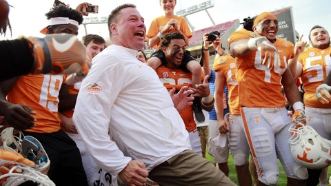 Tennessee was a national championship contender