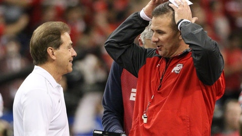 Nick Saban vs. Urban Meyer (College Football Playoff)