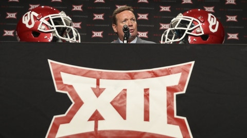 Six-time Big 12 Coach of the Year