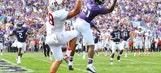 Northwestern's Kyle Queiro hauls in absurd one-handed interception vs Indiana