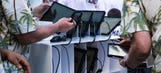 College football delays in-game technology implementation again
