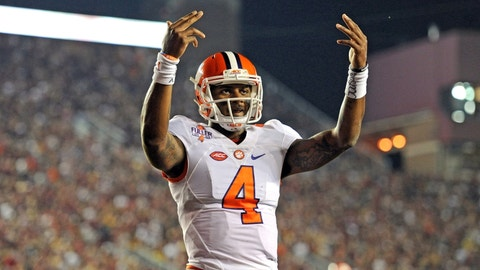 Clemson has the best player in this game