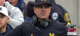 Jim Harbaugh is mad