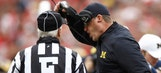 Watch: Jim Harbaugh rips officials following Michigan's loss to Ohio State