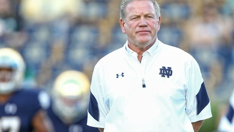 Brian Kelly, Notre Dame head coach (hot seat/job candidate)