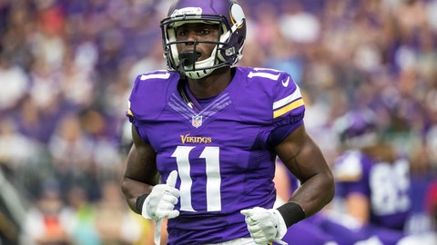 Laquon Treadwell, Vikings receiver (↓ DOWN)