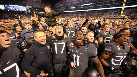Winning the Army-Navy game