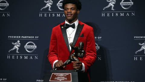 Lamar Jackson became the youngest Heisman winner ever