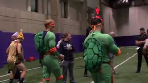 Northwestern football team