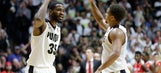 Thompson's charge leads No. 22 Purdue past Ohio St., 75-64