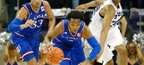 Ellis double-double for No. 7 Kansas in 75-56 win at TCU