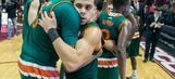 No. 12 Miami holds off Florida State, 67-65