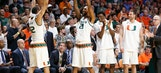 No. 12 Miami rallies past No. 11 Louisville 73-65