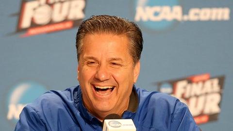 John Calipari, head coach, University of Kentucky