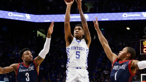 We'll learn a lot about Kentucky against the Tar Heels