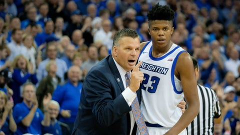 Creighton Bluejays (18-1, 5-1 Big East)