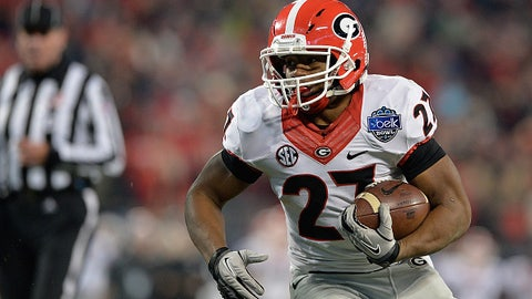 25. Georgia at Auburn -- Nov. 14