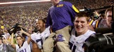 WATCH: LSU's Les Miles performs 'Dabbin Dance' for recruit