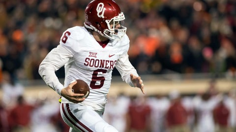 They've got Baker Mayfield and you don't