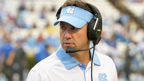 North Carolina at Florida State: Saturday, October 1