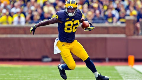 7. Jehu Chesson, Sr., Michigan