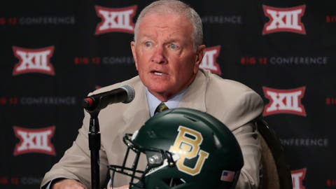 No. 8 Baylor (6-6, 3-6 Big 12)