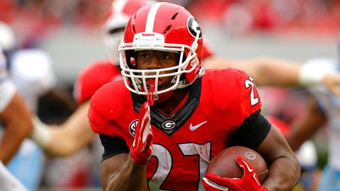 Nick Chubb, RB, Georgia